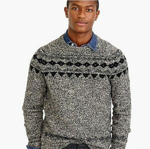 J. Crew Fair Isle Wool Sweater